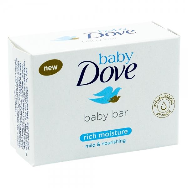 Sapun crema pentru bebelusi Dove Baby Rich Moisture, 75 gr 0
