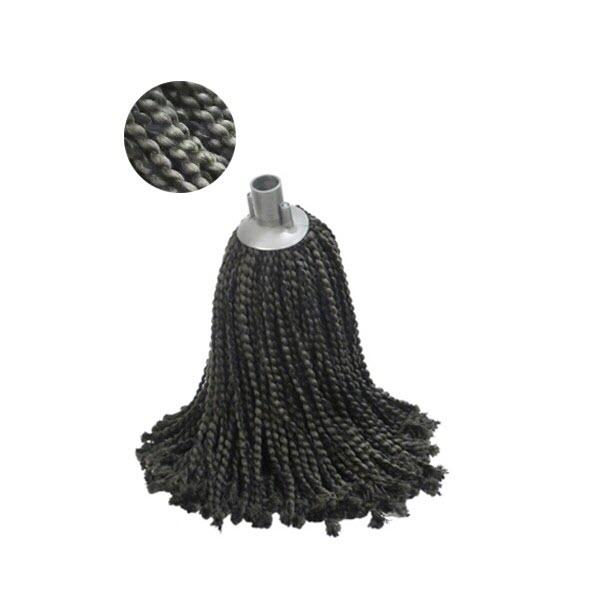 Mop microfibra si bumbac, negru, 225 g [0]