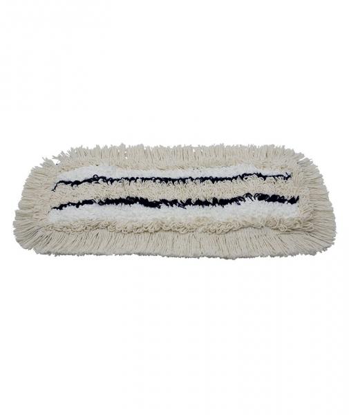 Mop plat cu buzunar bumbac si microfibra, 40 cm [0]