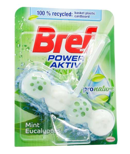 Odorizant toaleta Bref Power Aktiv Mint Eucalyptus, 50 g [0]