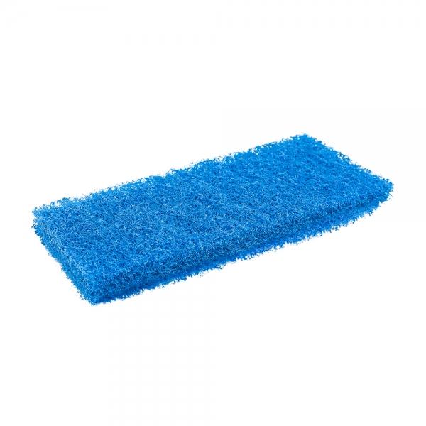 Pad fibra abraziva XXL, albastru, 12 x 25 cm 1