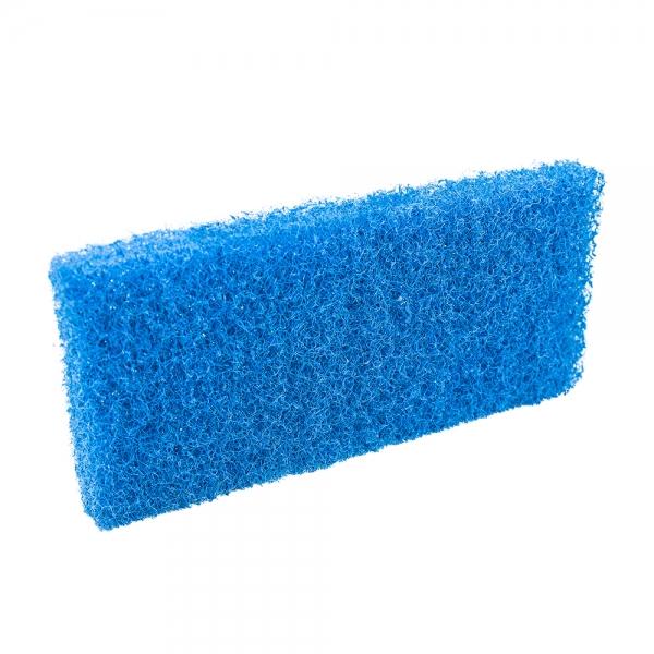 Pad fibra abraziva XXL, albastru, 12 x 25 cm 0