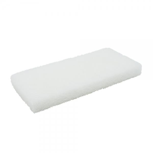 Pad fibra abraziva XXL, alb, 12 x 25 cm 1