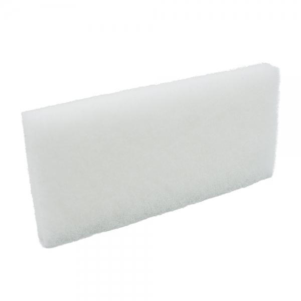 Pad fibra abraziva XXL, alb, 12 x 25 cm 0