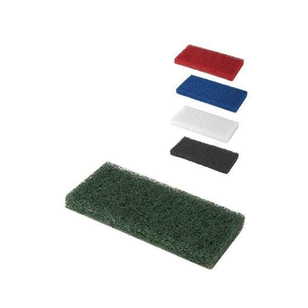 Pad fibra abraziva XXL, verde, 12 x 25 cm [0]