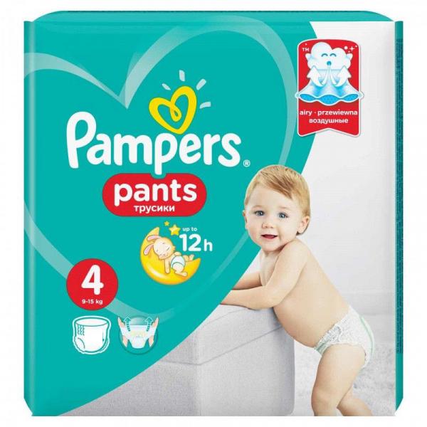 Pampers Pants 4, scutece chilotel, 16 buc [0]
