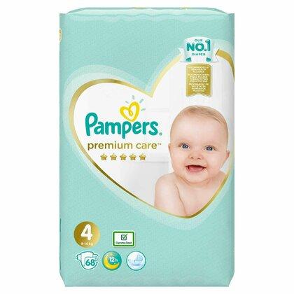 Pampers Premium Care 4, scutece, 68 buc 0