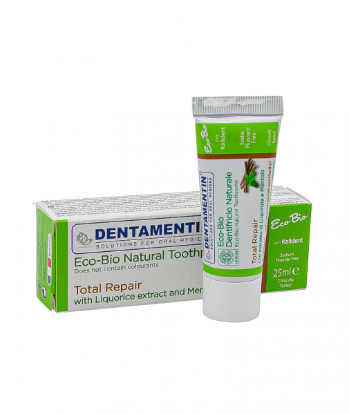 Pasta dinti Eco-Bio Total Repair Denatamentin, 25 ml 0