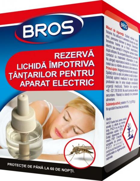 Aparat electric cu rezerva lichida impotriva tantarilor, Bros [0]