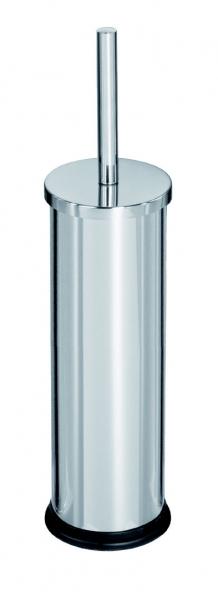 Perie wc inox, cu suport cu baza din plastic [0]