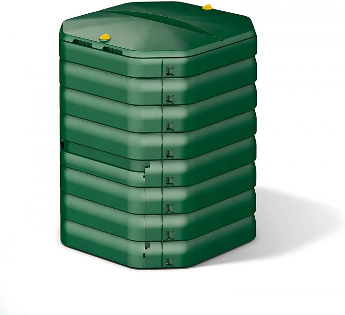 Compostor de gradina, verde, 300 L [0]