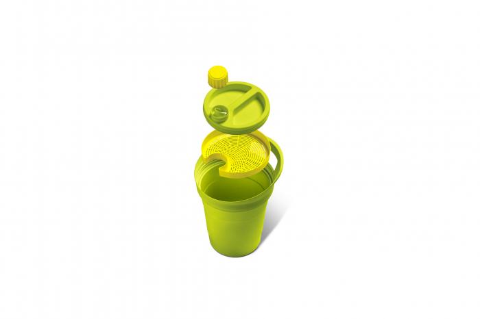 Recipient colectare ulei uzat, verde, 3 L [1]