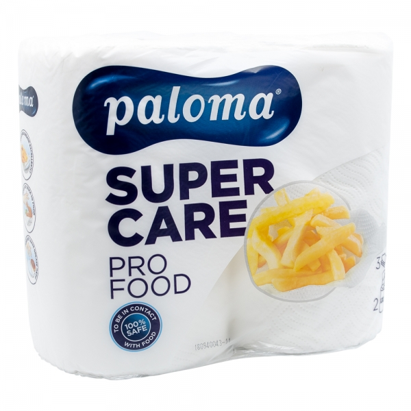 Role de prosop de bucatarie Paloma Super Care Food XXL, 2 buc/set 0