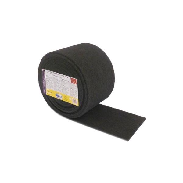 Rola fibra abraziva neagra 6 m x 0.15 m 0