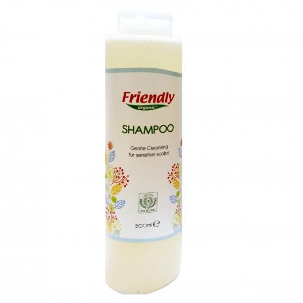 Sampon Adult cu Ovaz Organic, Friendly Organic, 500 ml 0