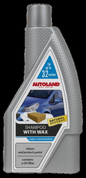 Sampon auto foarte concentrat, cu ceara,  Autoland, 950 ml 0