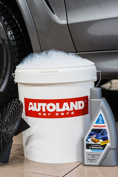 Sampon auto foarte concentrat, cu ceara,  Autoland, 950 ml 1