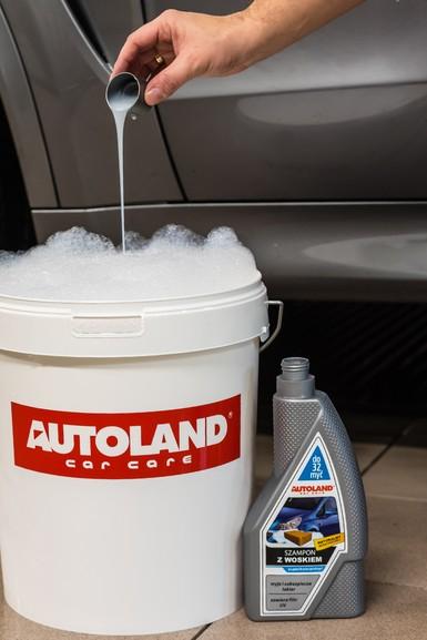Sampon auto foarte concentrat, cu ceara,  Autoland, 950 ml 3