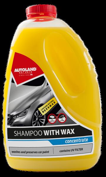 Sampon auto concentrat cu ceara, Shampoo with wax, Autoland, 3 L [0]
