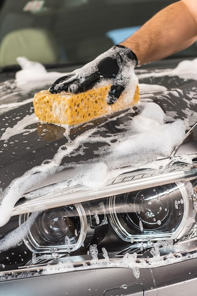Sampon auto concentrat cu ceara, Shampoo with wax, Autoland, 3 L [3]