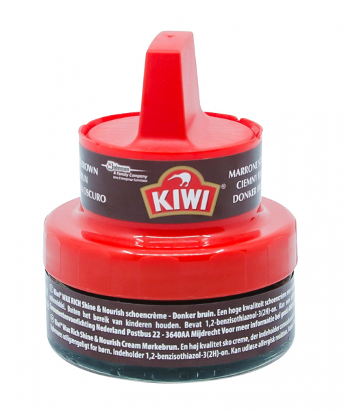 Ceara incaltaminte maro, Kiwi Rich Shine, 50 ml 0