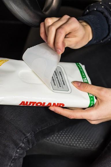 Servetele umede pentru curatarea mainilor, Autoland, 25 buc 1