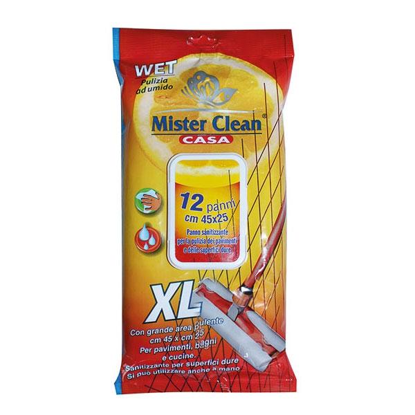 Servetele umede igienizante pentru pardoseli XL, Mister Clean, 12 Buc. 0
