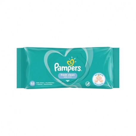 Servetelele umede Pampers Fresh Clean, 52 buc 0