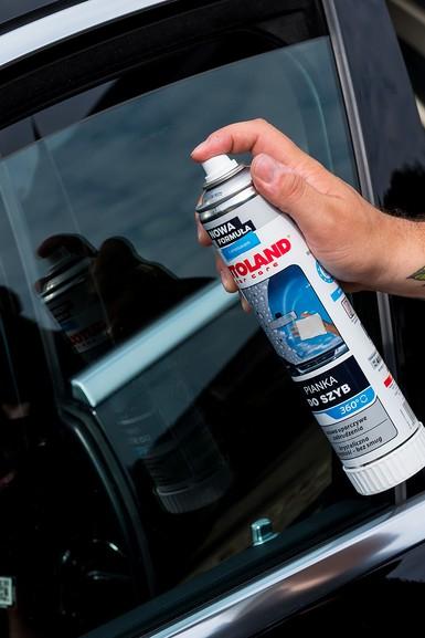 Spuma pentru curatarea suprafetelor din sticla, Glass foam cleaner, Autoland, 400 ml 1