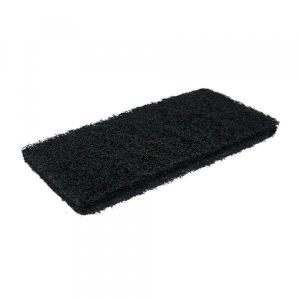 Pad fibra abraziva XXL, negru, 12 x 25 cm 1