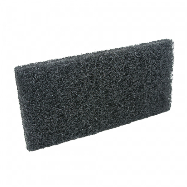 Pad fibra abraziva XXL, negru, 12 x 25 cm 0