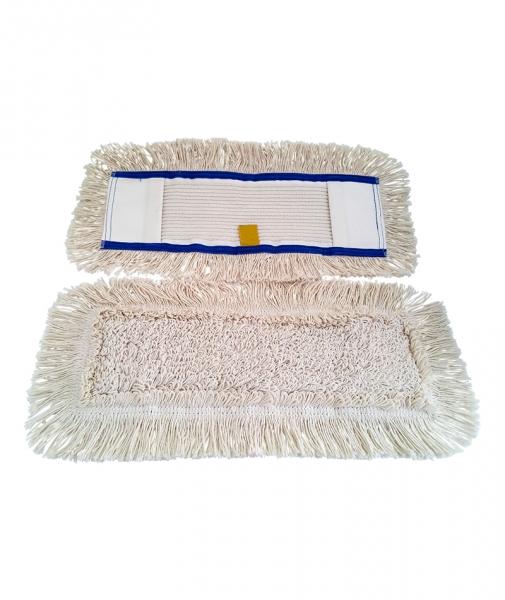 Mop plat cu buzunar bumbac, 60 cm 1