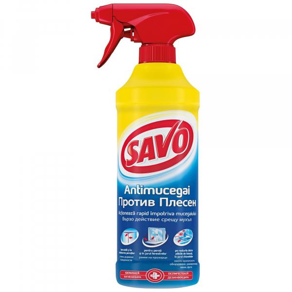 Solutie antimucegai, Savo, 500 ml 0