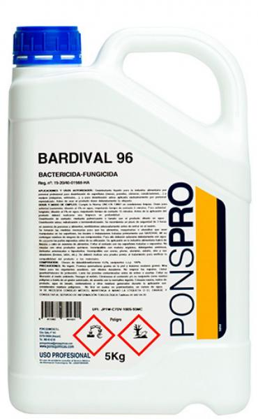 Dezinfectant suprafete bactericid si fungicid Asevi Bardival, 5 L [0]