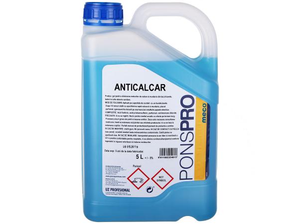 Detergent Asevi anticalcar Pons Gel, 5 L [0]