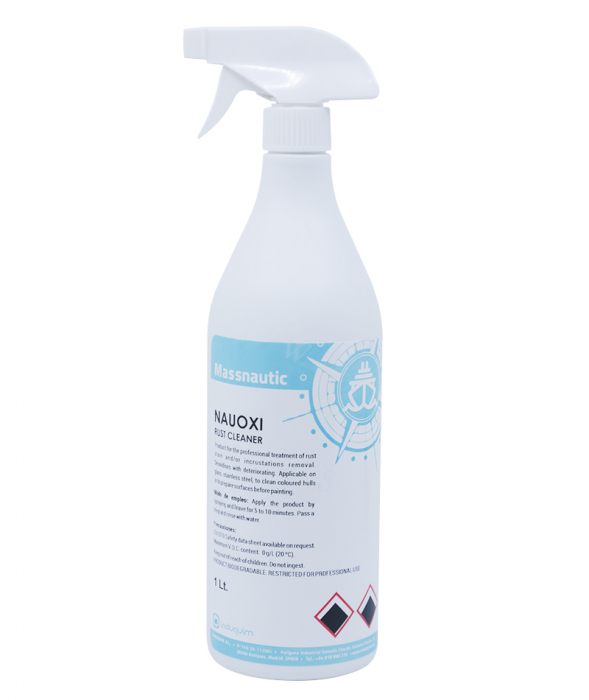 Solutie curatare rugina, Nauoxy, 1 L [0]