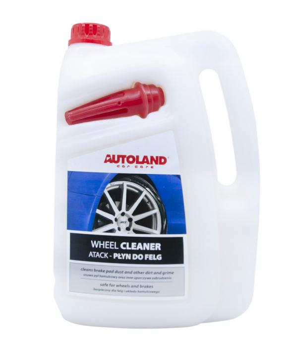 Solutie curatat jante si capace, Atack Wheel Cleaner, Autoland, 5 L [4]