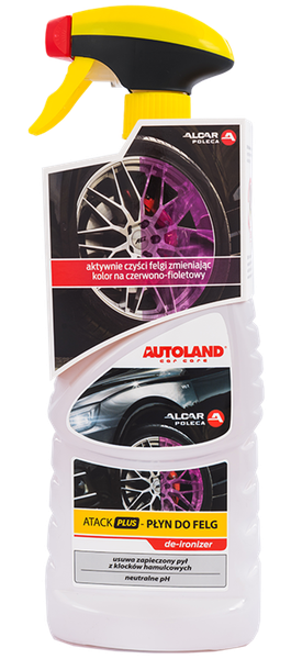 Solutie curatare sistem de franare, Atack Plus Wheel Cleaner, Autoland, 750 ml 0