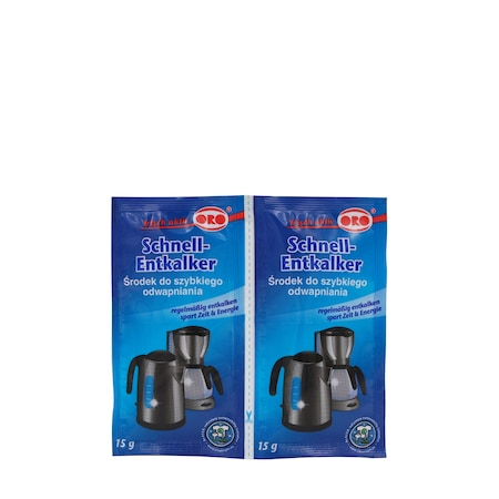 Pudra pentru decalcifiere cafetiere, ORO, 2x15 g [0]