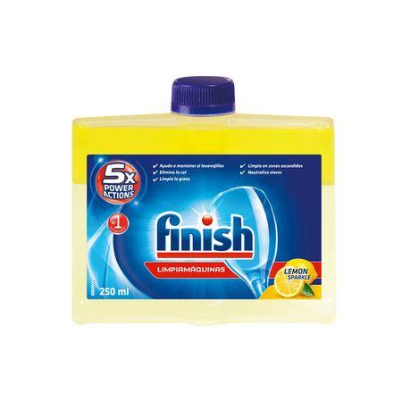 Solutie pentru curatat masina de spalat vase, Finish Lemon, 250 ml [0]