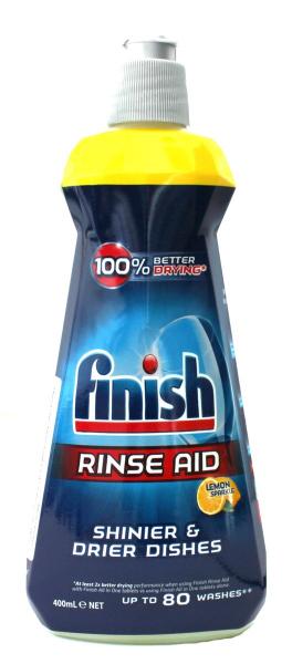Solutie de clatire pentru masina de spalat vase, Finish Lemon, 400ml 0