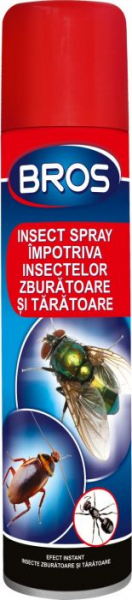 Spray impotriva insectelor zburatoare si taratoare, Bros, 400 ml [1]