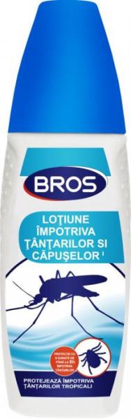 Lotiune impotriva tantarilor si capuselor, Bros, 100 ml 0