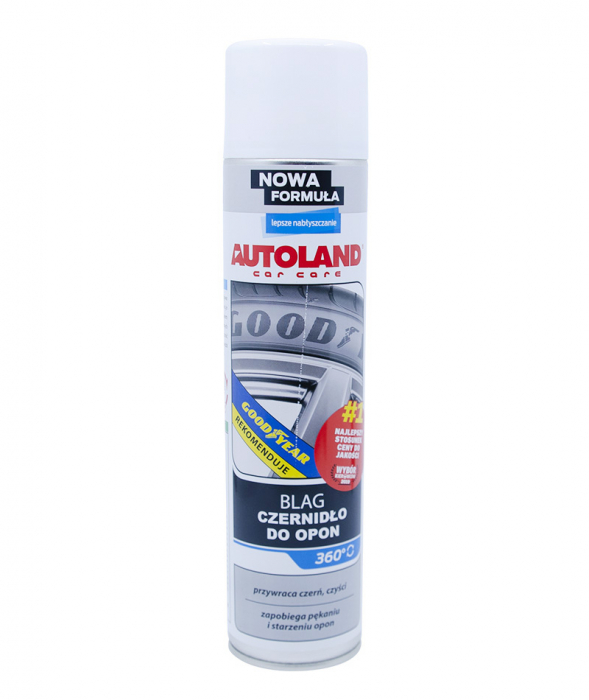 Spray pentru luciu anvelope, Blag Tyre Gloss, Autoland, 600 ml [3]