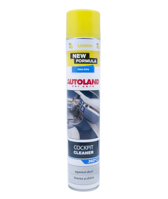 Spuma curatare bord cu efect mat, Lemon, Autoland, 750 ml [1]