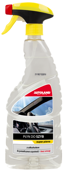 Solutie pentru curatarea suprafetelor din sticla, Glass Cleaner, Autoland, 750 ml 0