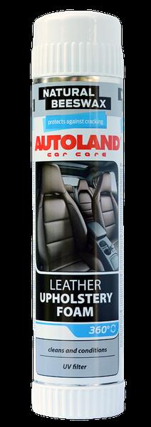 Spuma pentru curatarea tapiteriei din piele, Autoland, 400 ml 0