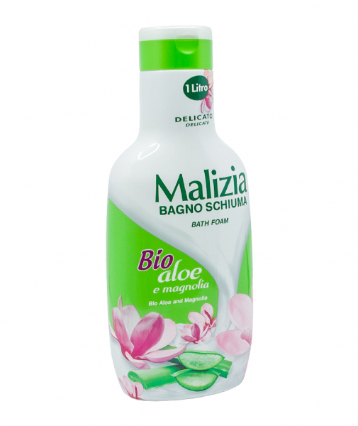 Spumant de baie Malizia Aloe & Magnolia, 1L 0