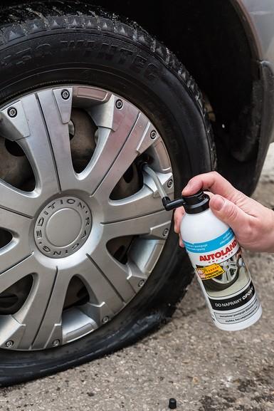 Kit reparare anvelope, Tyre puncture repair, Autoland, 400 ml [3]