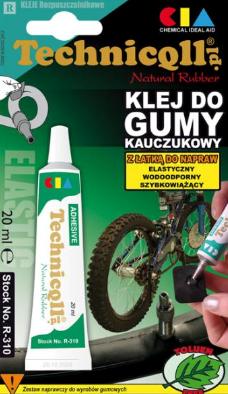 Super Glue pentru cauciuc, Technicqll,  20 g, TE R-310 20 ML [0]